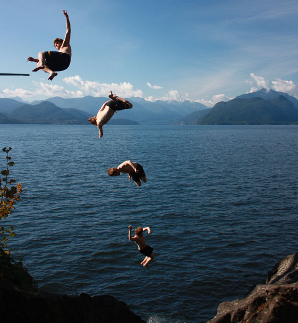 One Of The World's Most Dangerous Cliff Jumps