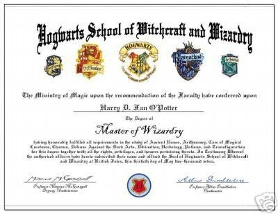 hogwarts certificate template - international talk to me about austria