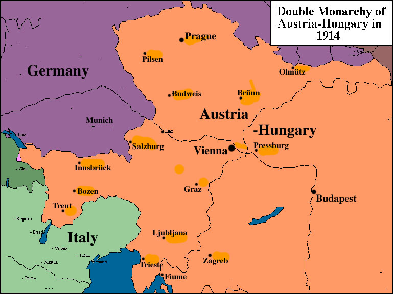 Austria before and after ww1 talk to me about austria click on the link above to see an interactive picture of the territory of austria before world war 1 and after gumiabroncs Images